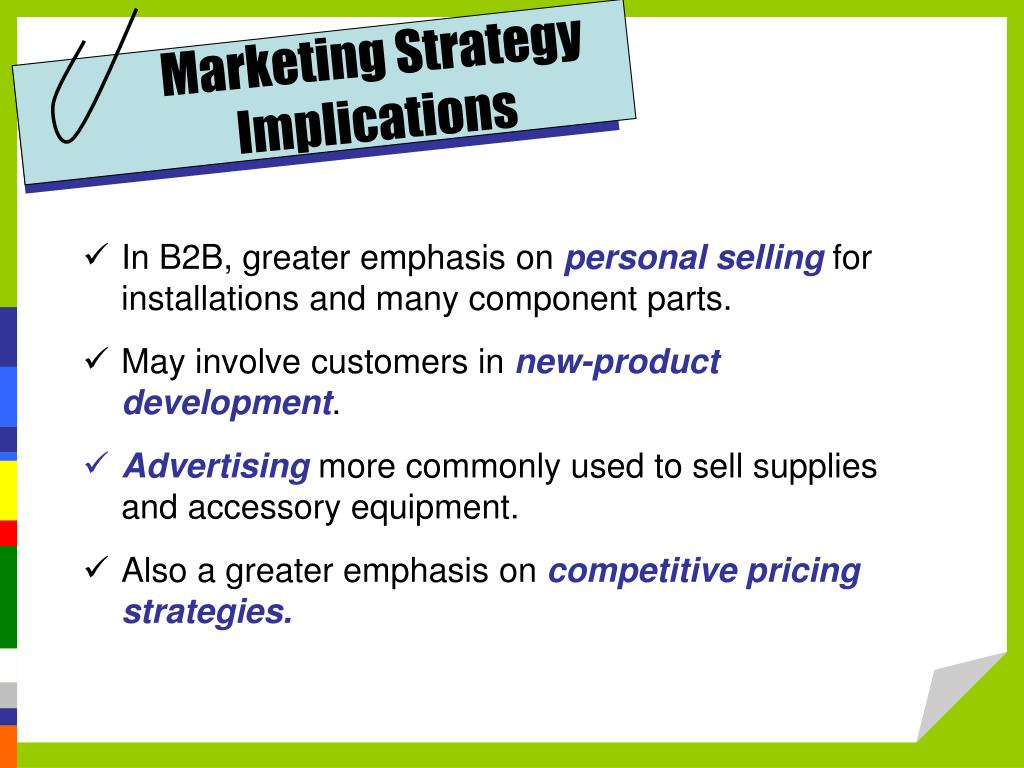Marketing Strategy Implications