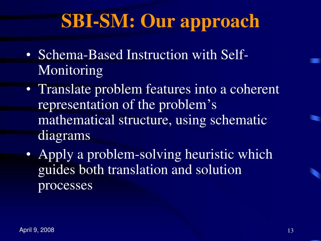 SBI-SM: Our approach