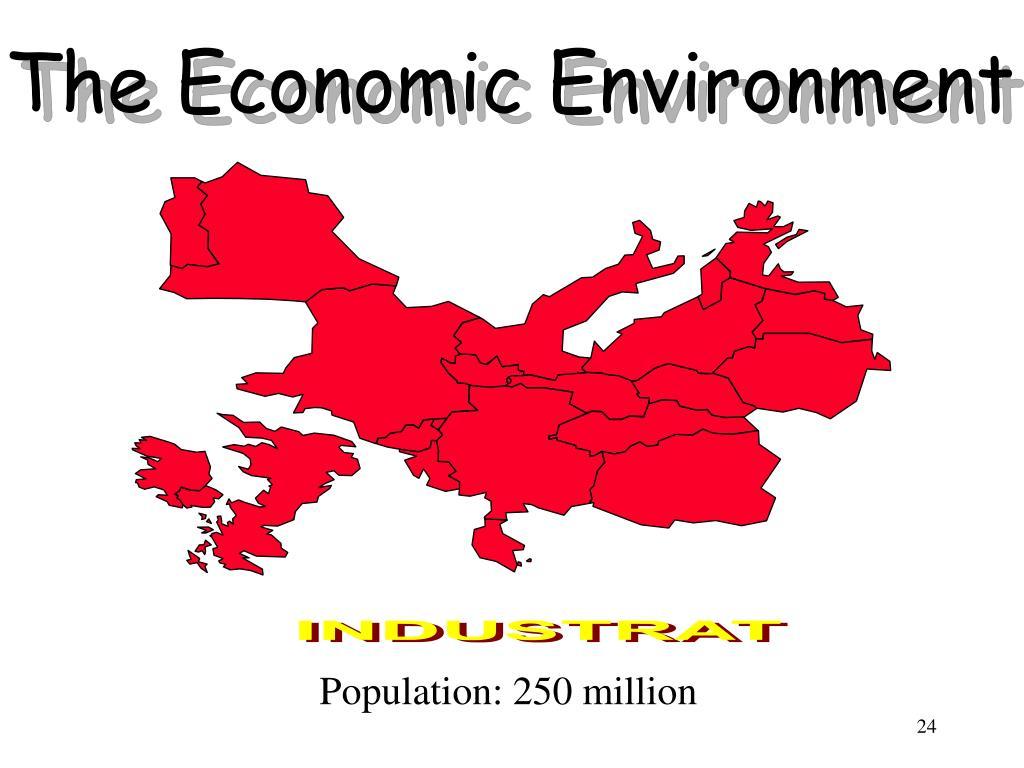 The Economic Environment