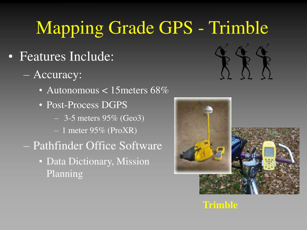 Mapping Grade GPS - Trimble