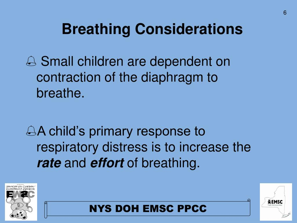Breathing Considerations