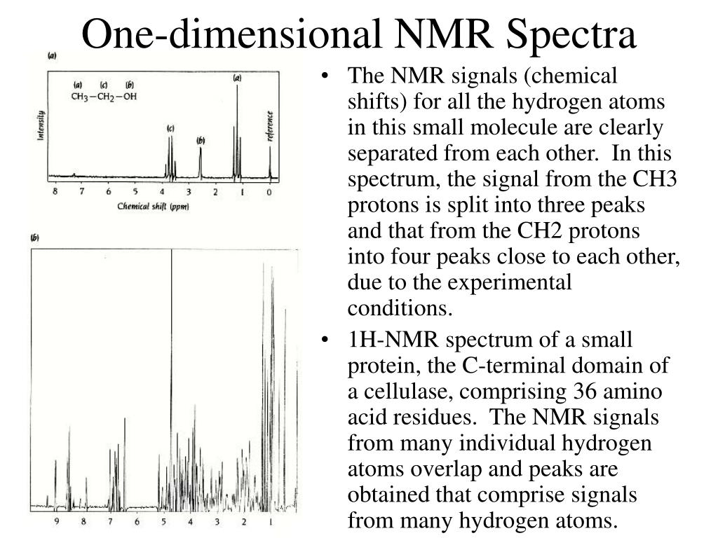 One-dimensional NMR Spectra