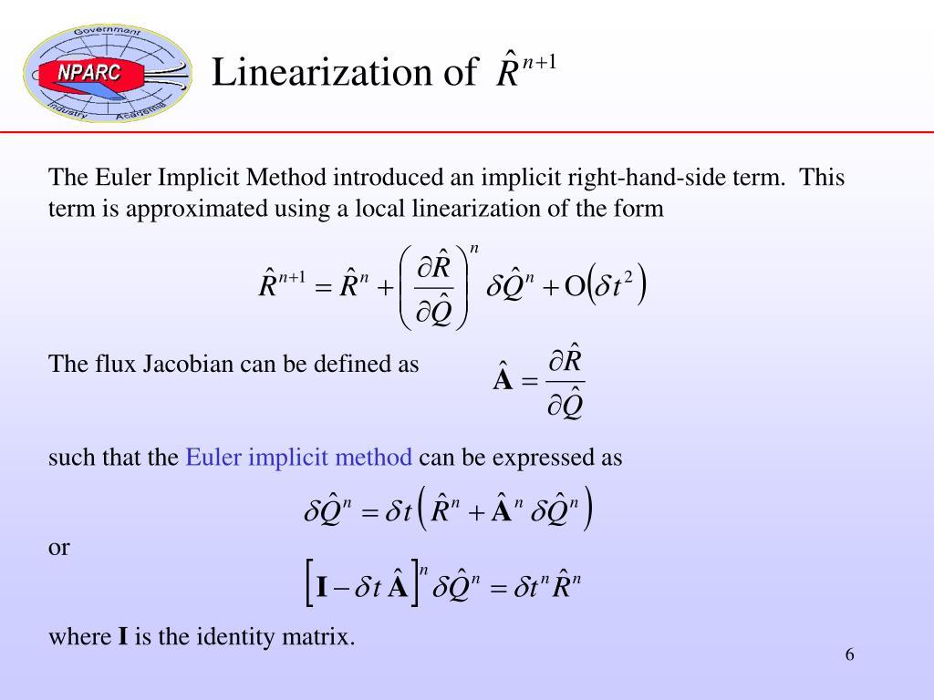 Linearization of