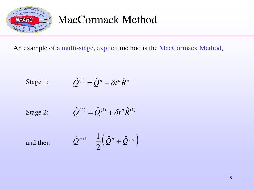 MacCormack Method