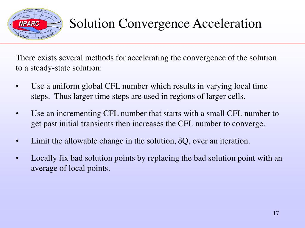 Solution Convergence Acceleration