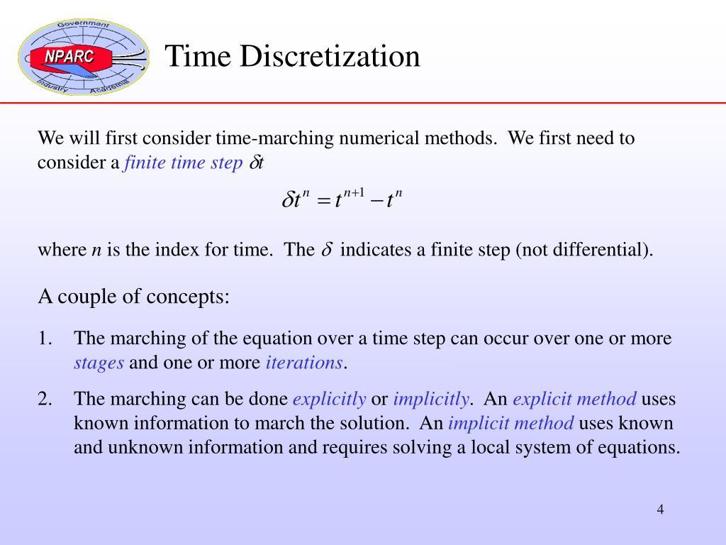 Time Discretization