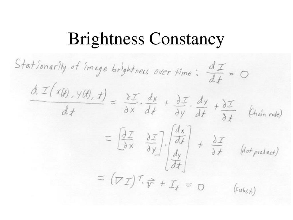 Brightness Constancy