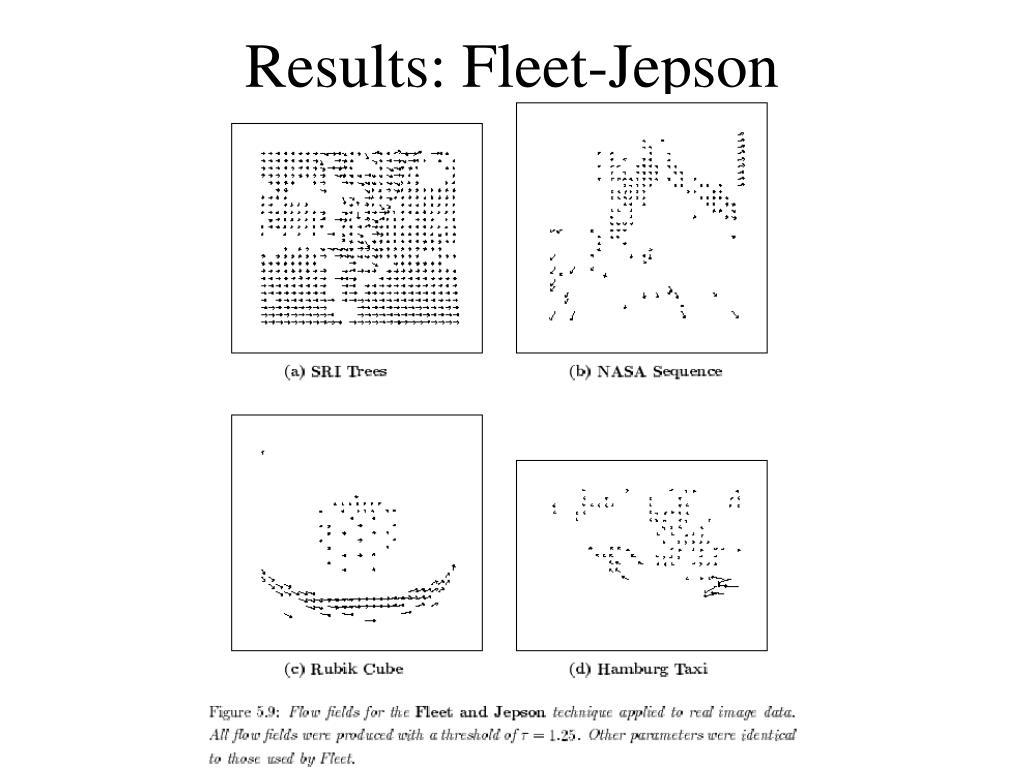Results: Fleet-Jepson