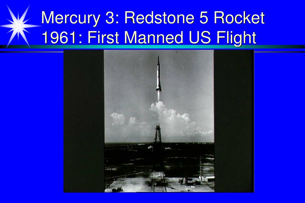 Mercury 3: Redstone 5 Rocket