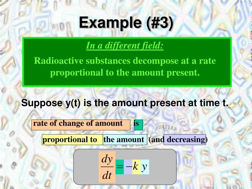 Example (#3)
