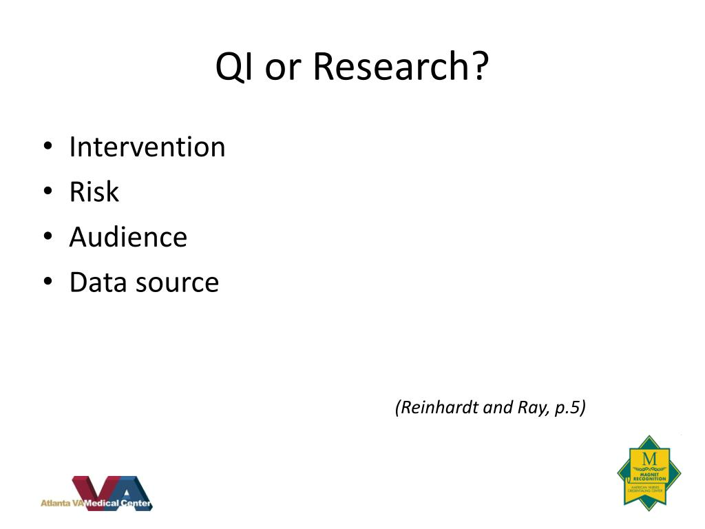 QI or Research?