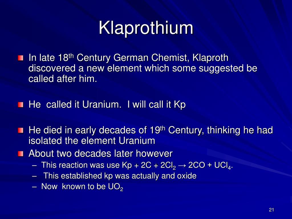 Klaprothium