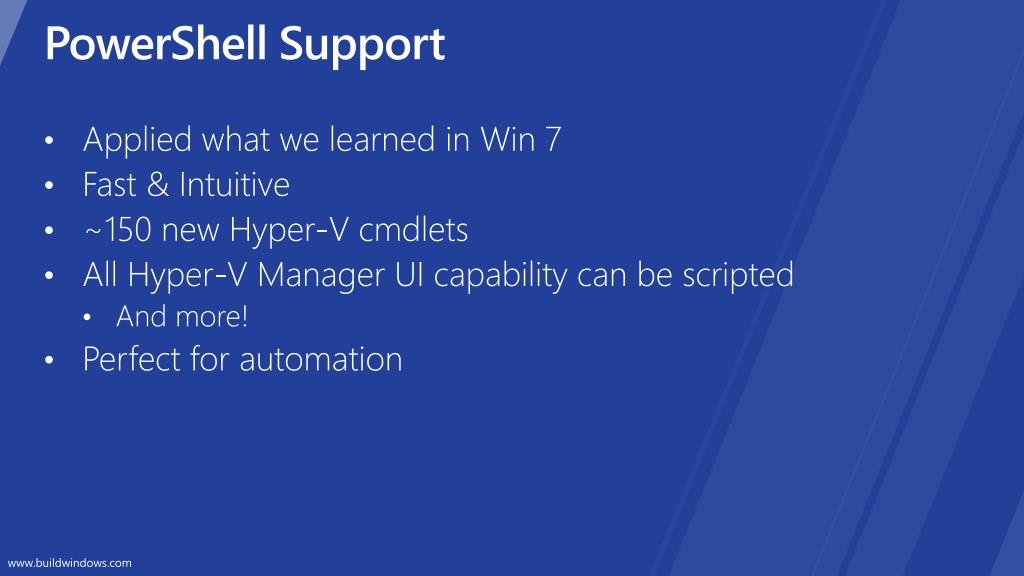 PowerShell Support