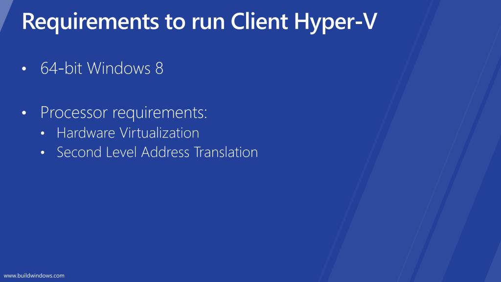 Requirements to run Client