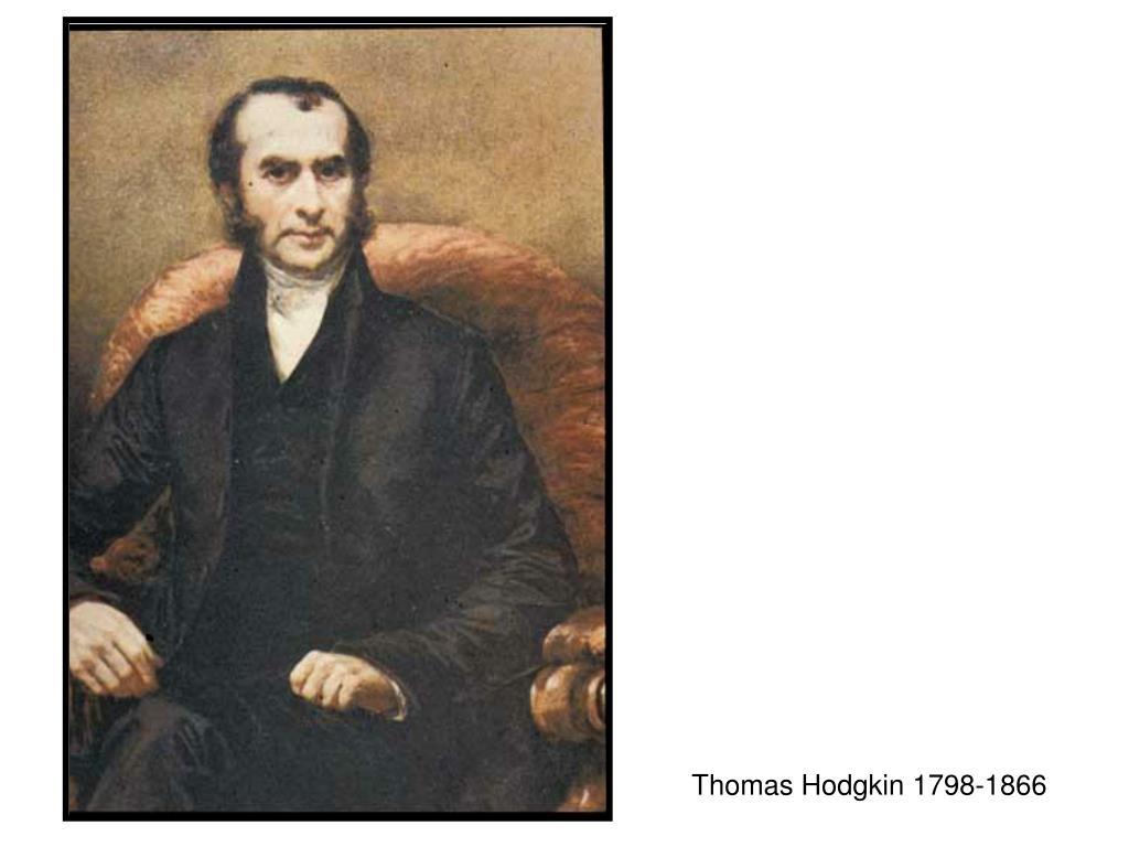 Thomas Hodgkin 1798-1866