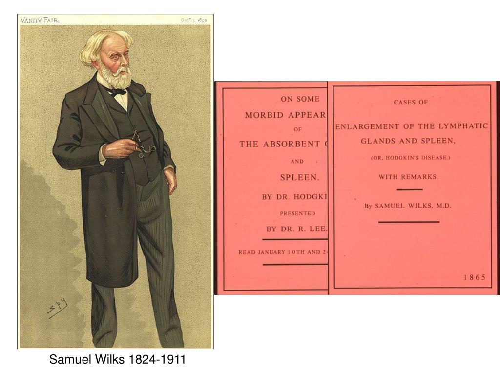Samuel Wilks 1824-1911