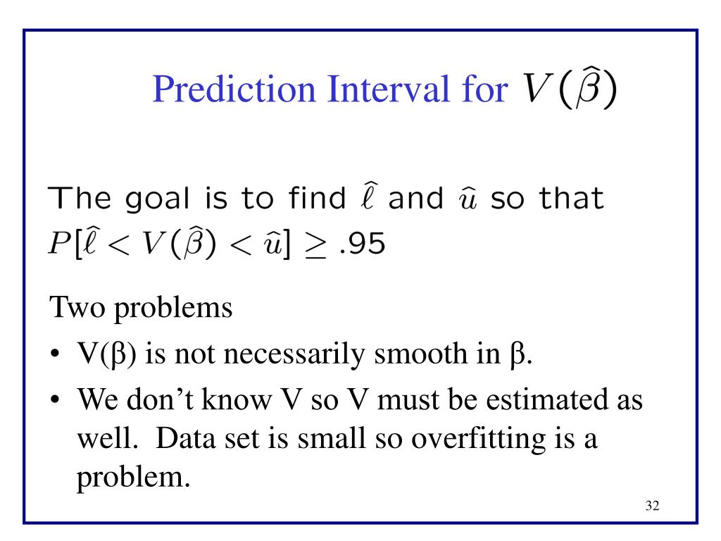 Prediction Interval for