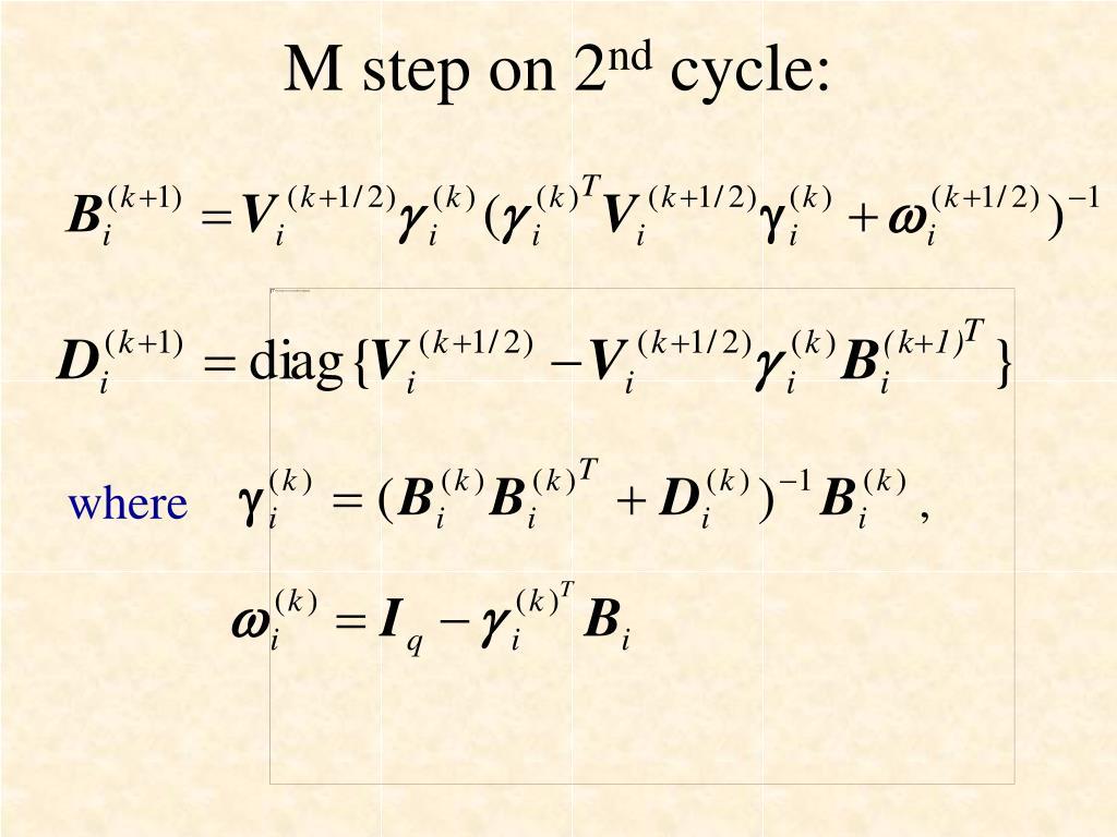 M step on 2
