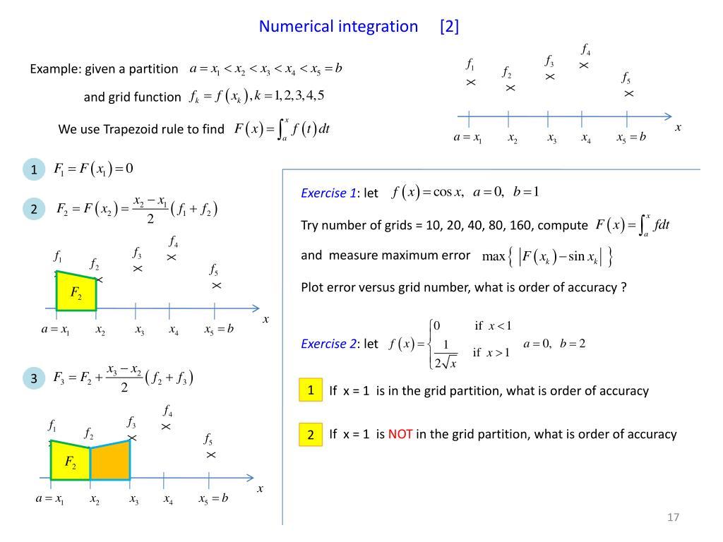 Numerical integration     [2]