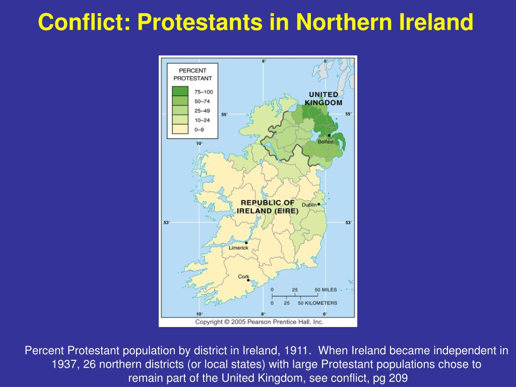 Conflict: Protestants in Northern Ireland