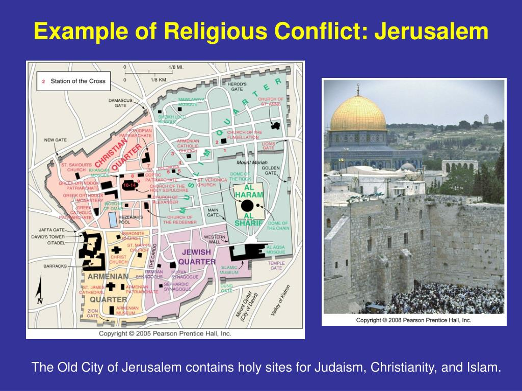 Example of Religious Conflict: Jerusalem