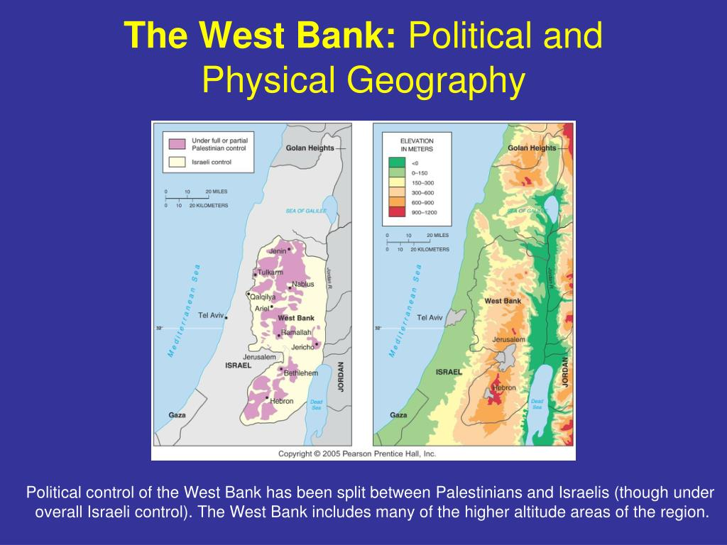 The West Bank: