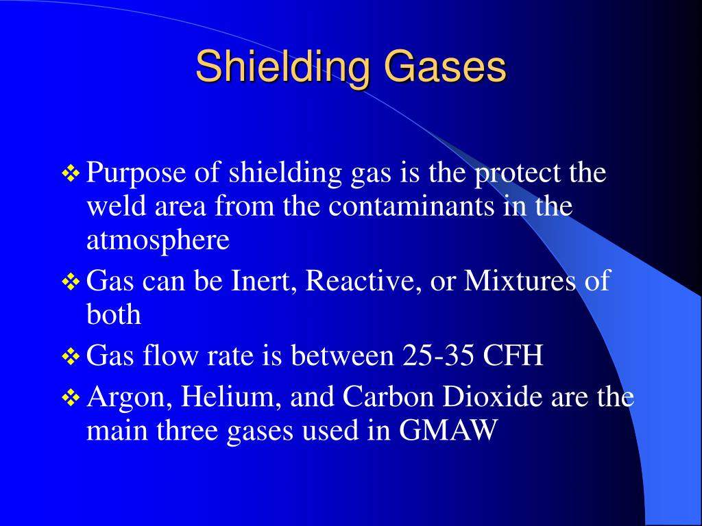 Shielding Gases