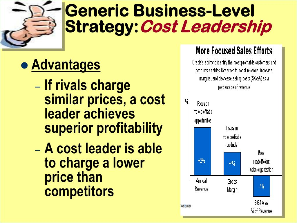 Generic Business-Level Strategy: