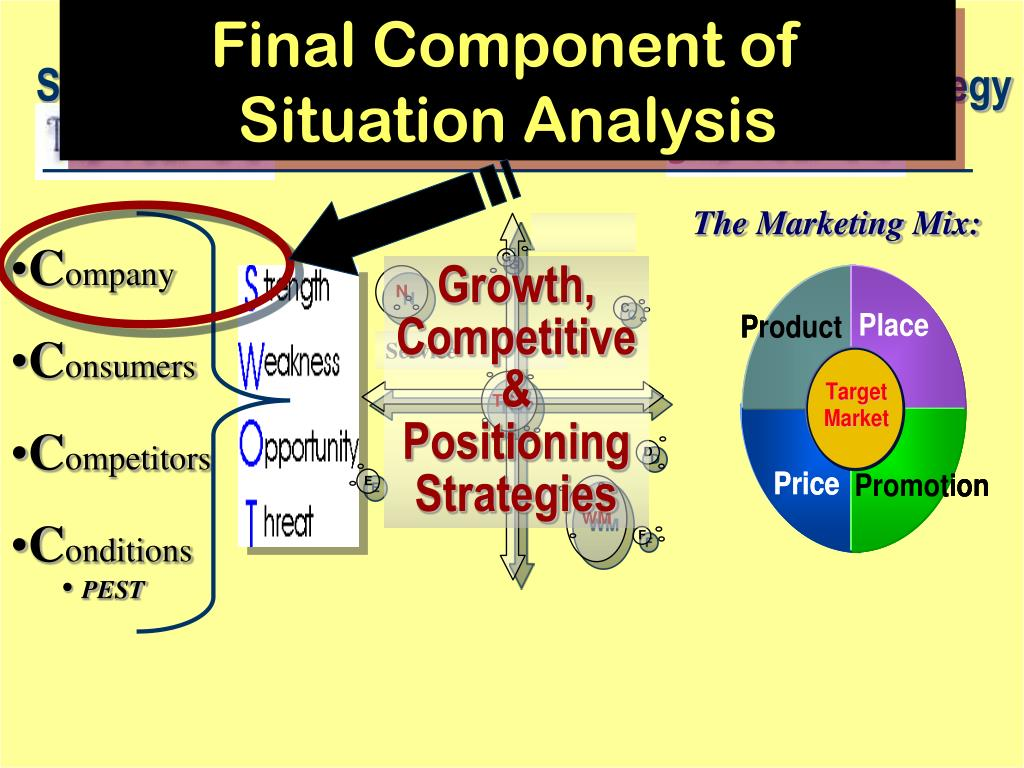 Final Component of Situation Analysis
