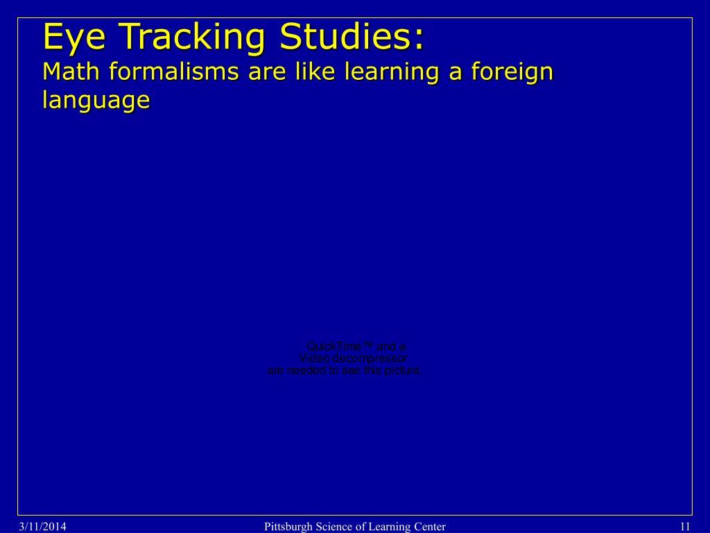 Eye Tracking Studies: