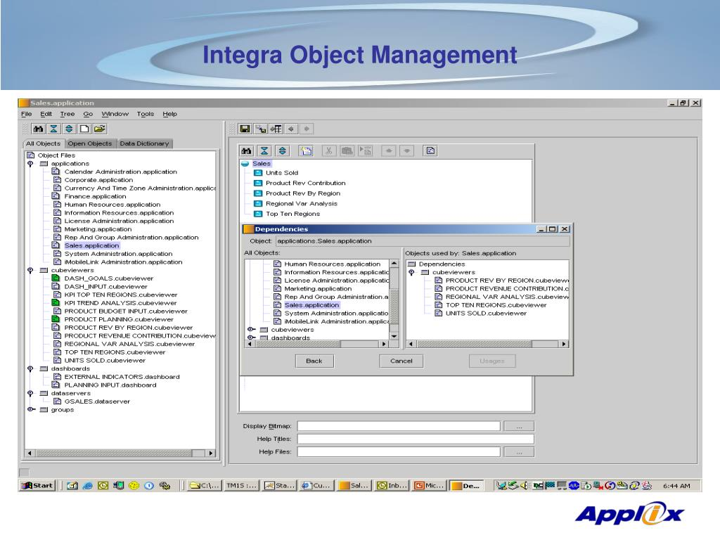 Integra Object Management