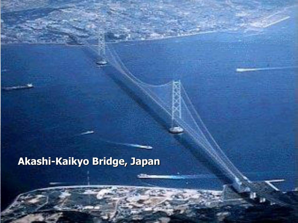 Akashi-Kaikyo Bridge, Japan