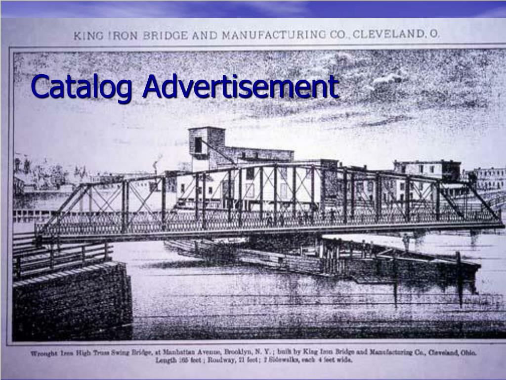 Catalog Advertisement