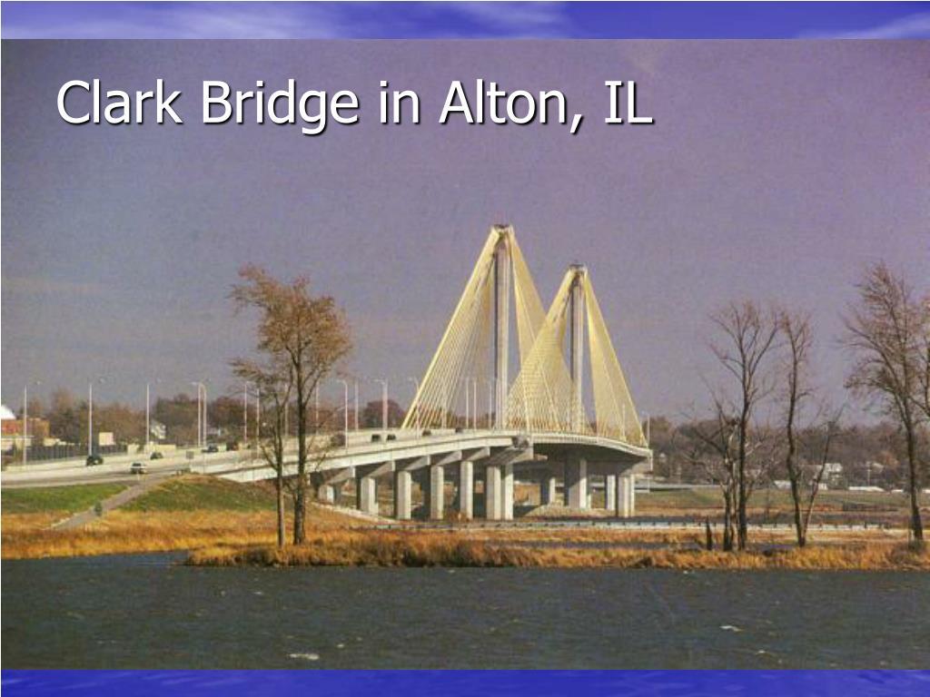 Clark Bridge in Alton, IL