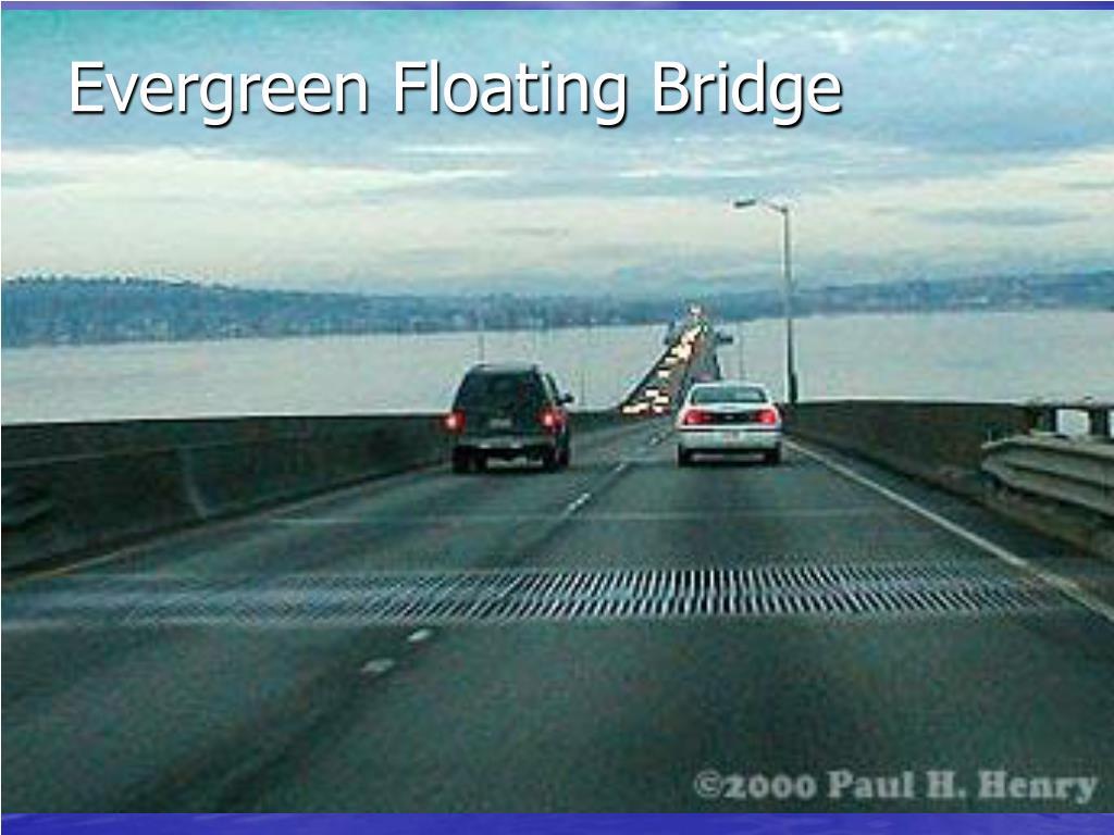 Evergreen Floating Bridge