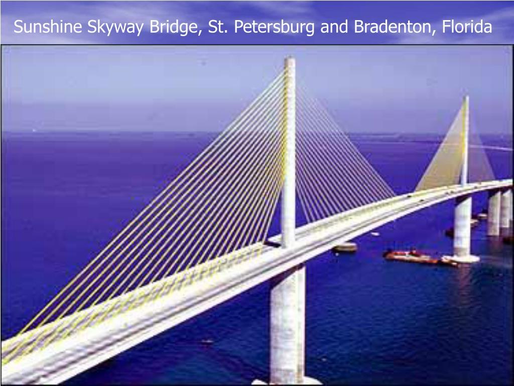 Sunshine Skyway Bridge, St. Petersburg and Bradenton, Florida