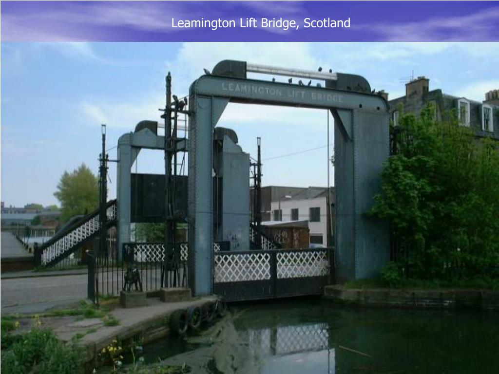 Leamington Lift Bridge, Scotland