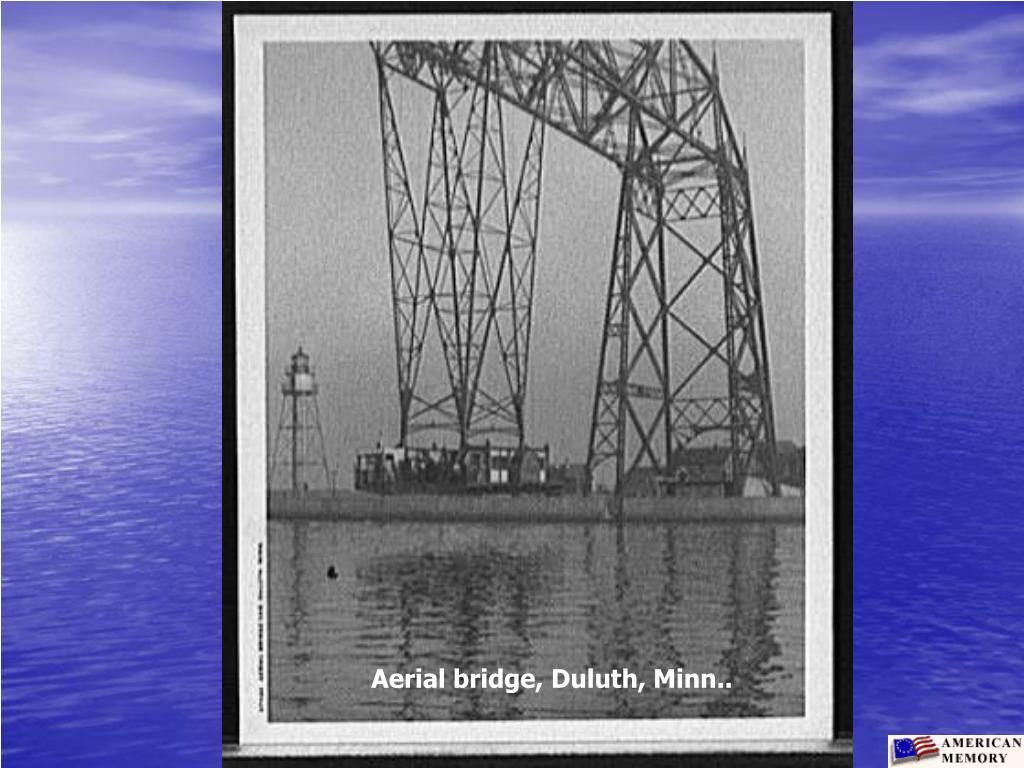 Aerial bridge, Duluth, Minn..