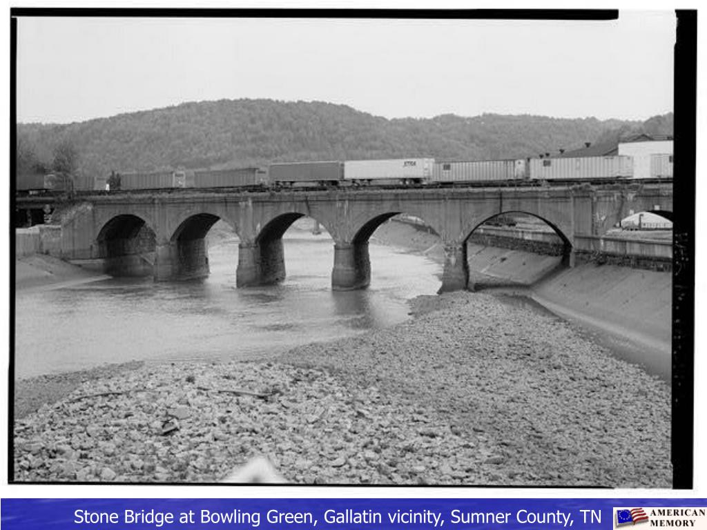 Stone Bridge at Bowling Green, Gallatin vicinity, Sumner County, TN