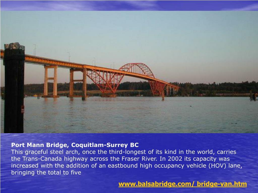 Port Mann Bridge, Coquitlam-Surrey BC