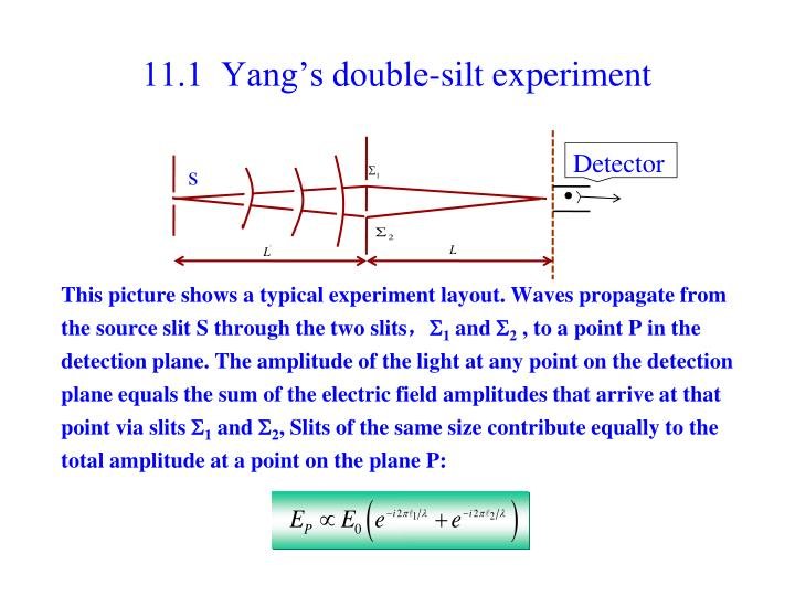 11 1 yang s double silt experiment