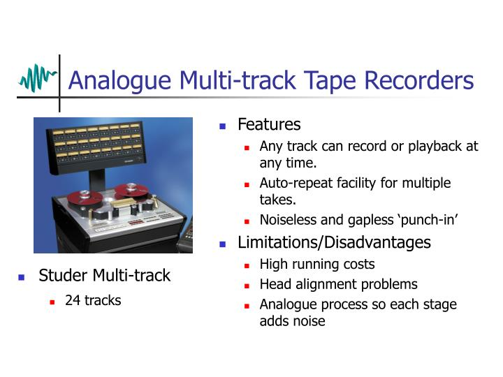 Analogue Multi-track Tape Recorders