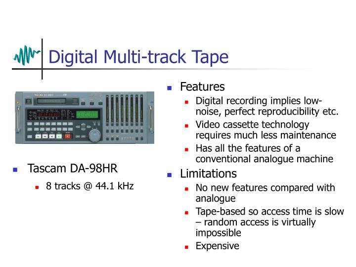Digital Multi-track Tape