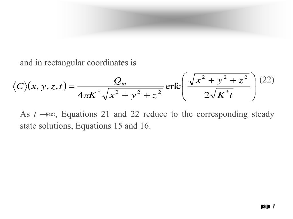 and in rectangular coordinates is