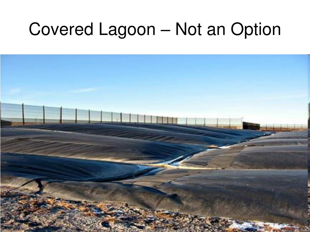 Covered Lagoon – Not an Option