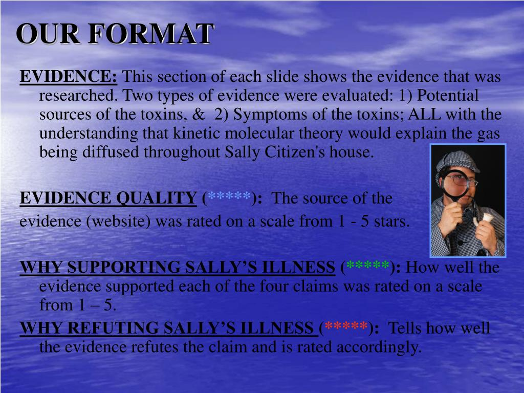 OUR FORMAT