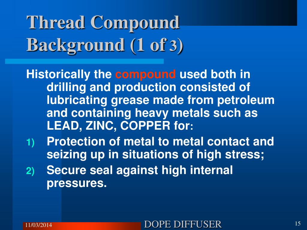 Thread Compound Background (1 of