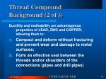 thread compound background 2 of 3