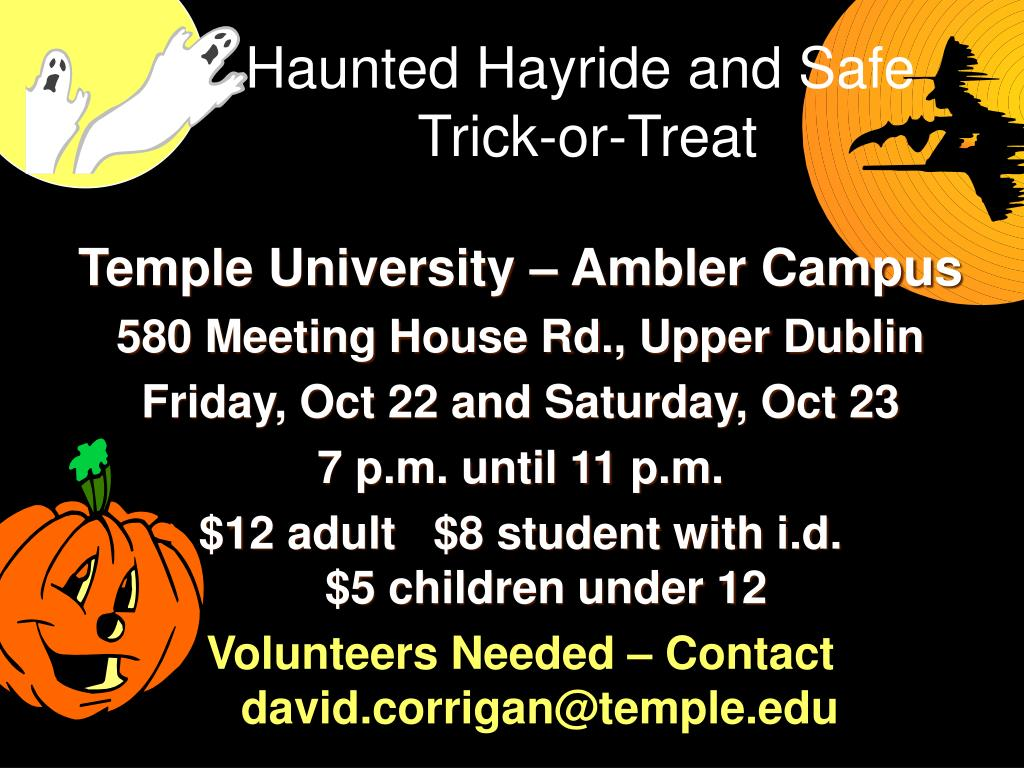 Haunted Hayride and Safe
