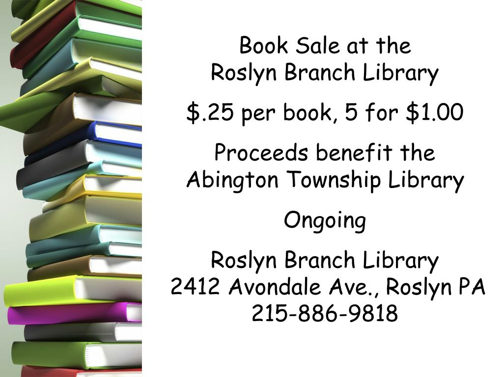 Book Sale at the